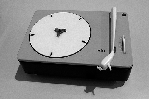 Braun PC 3-SV Record Player