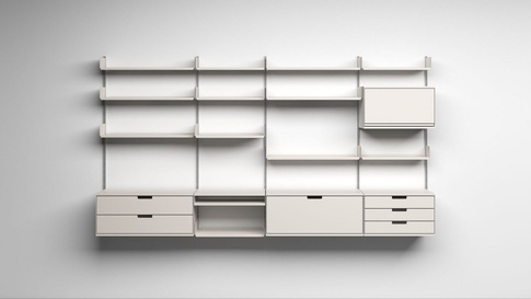 Vitsow Shelving System from Dieter Rams