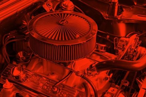 car Engine by Seabamirum