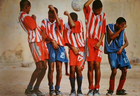 Young Soccer Players - photo by Cliff