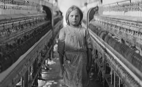 Child Laborer in the Mollahan Mills