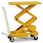 Triple Scissor Manual Lift Table