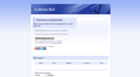 minute mail