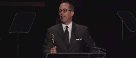 Jerry Seinfeld Clio Acceptance Speech