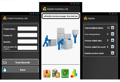 Instant Inventory - Android app