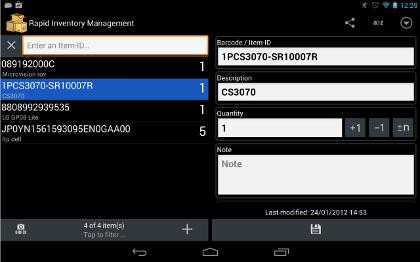 Rapid Inventory App