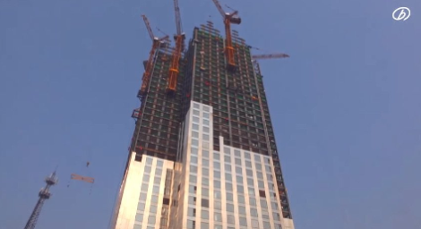 57 storey building in 19 days